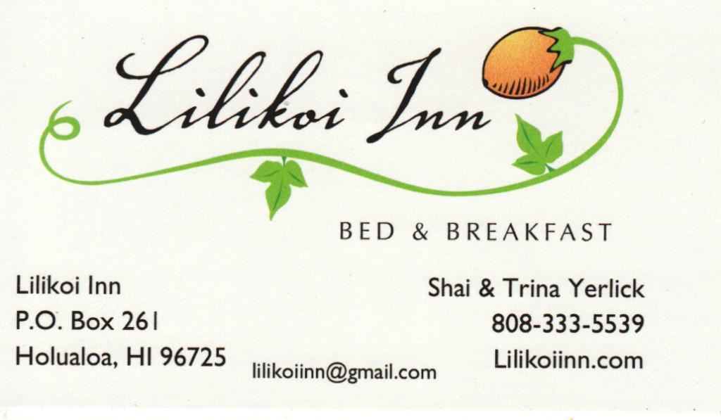 Lilikoi Inn